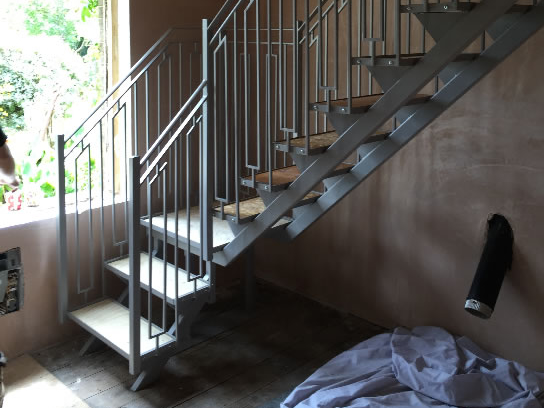 Bespoke internal staircase